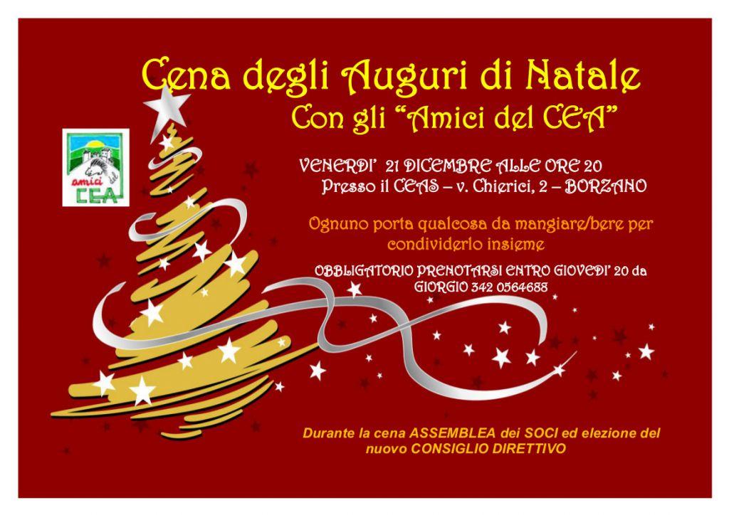 Immagini Di Natale Per Amici.Cena Di Natale Con Gli Amici Del Cea Comune Di Albinea