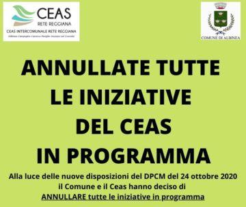 Leggi: «Annullate tutte le iniziative del Ceas»