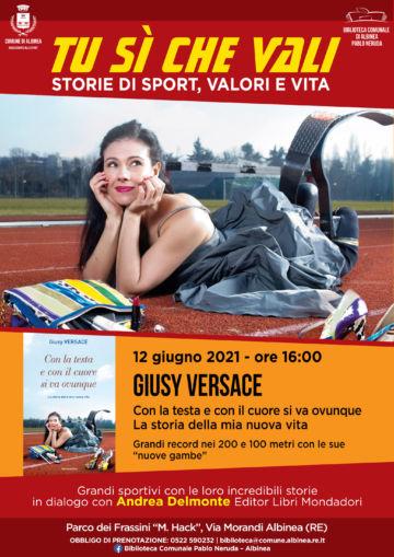 Leggi: «Sabato 12 giugno Giusy Versace al…»