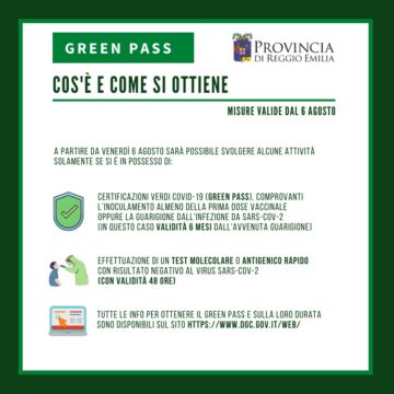 Leggi: «Green Pass obbligatorio dal 6 agosto»