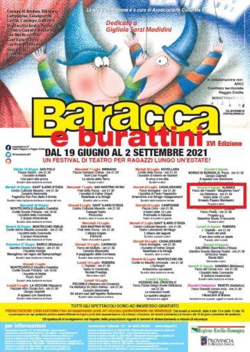 Leggi: «Venerdì 6 agosto teatro dei burattini…»